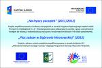 Projekty unijne 2012'