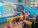 Październikowa aktywność klas młodszych