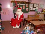 Mikołaj u najmłodszych